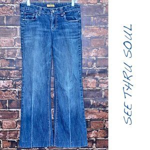 See Thur Soul Flared Leg Jeans - Size 26